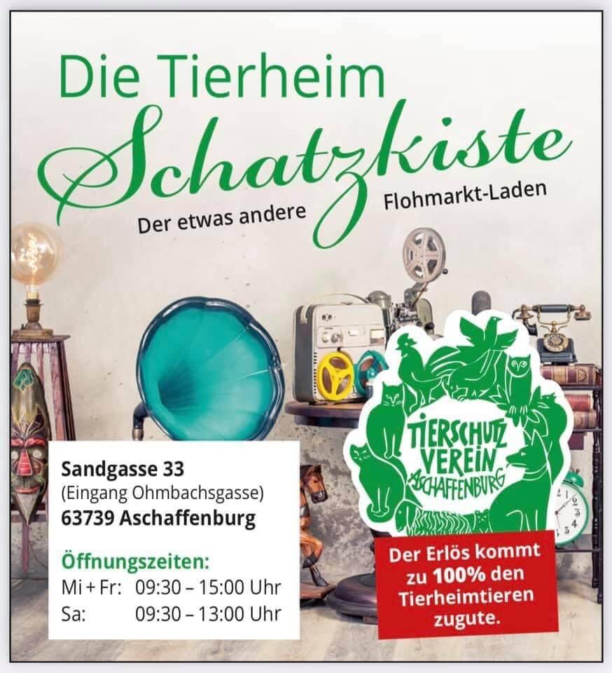 Schatzkiste Tierheim Aschaffenburg